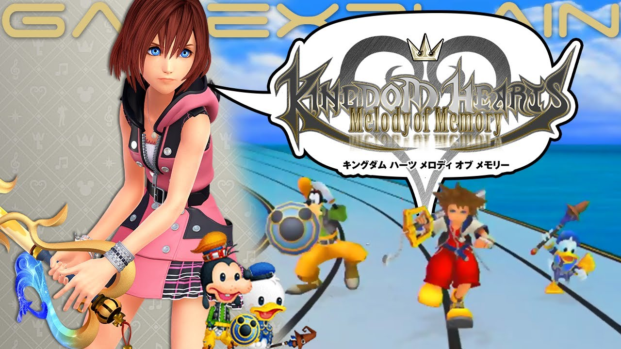 Kingdom Hearts Melody of Memory Crack PC Game Free Download