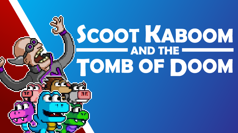Scoot Kaboom and the Tomb of Doom Crack PC Game Free Download